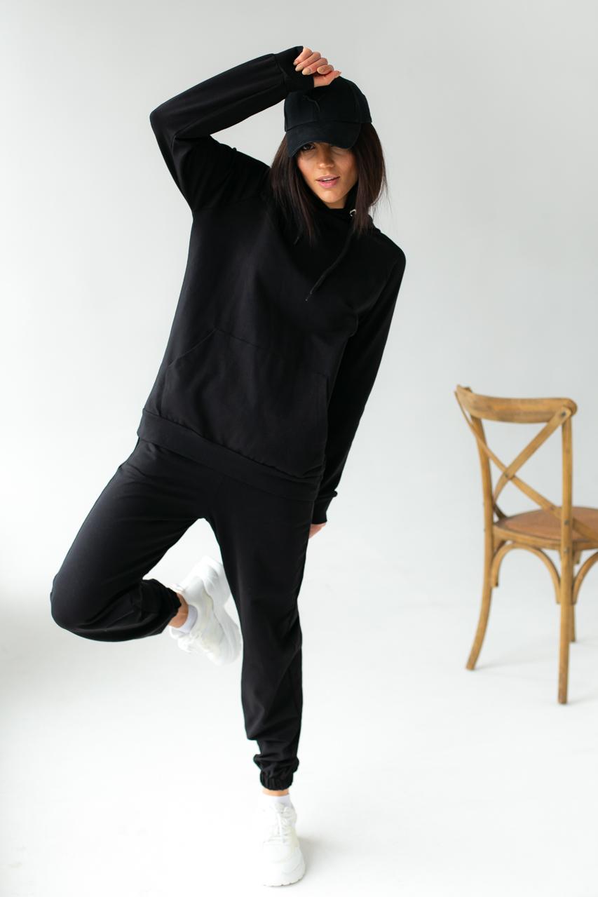 Спортивный костюм из худи и джоггеров DISPATCH - черный цвет