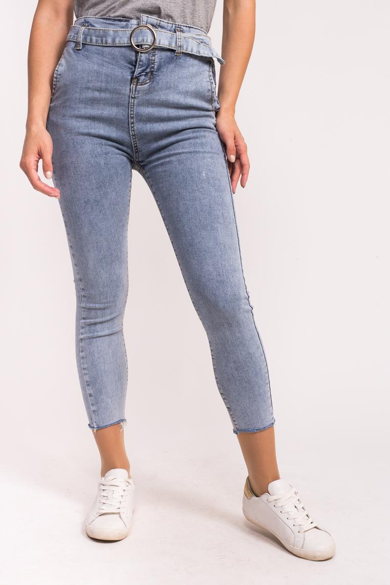 Женские стрейчевые джинсы M-M - джинс цвет
